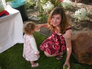 Cory Ellen with her daughter
